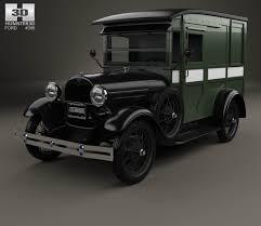 Antique Ford Truck Models - ford model a delivery truck 1931 3d model hum3d