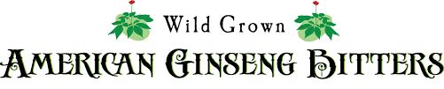 wild grown american ginseng bitters
