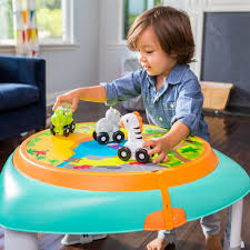 sit to stand activity table sit spin stand entertainer 360 seat activity table baby