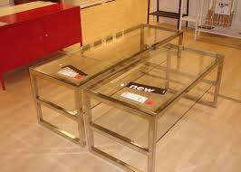 table glass square coffee table stunning glass coffee table for
