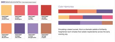 pantone color palettes 8 color palettes to get you excited about pantone s color of the