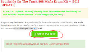 tutorial drum download southside 808 mafia sound kit free download thp