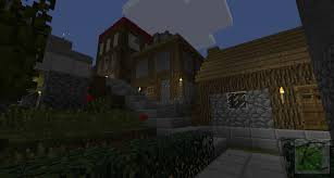3 new stone wood combination houses minecraft screenshots a