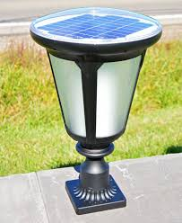 solar lights post mount solar pillar lights entrance column pillar solar