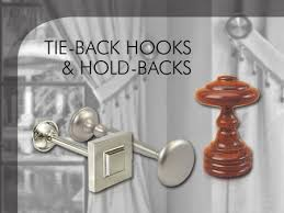 back hooks riel chyc tie back hooks hold backs