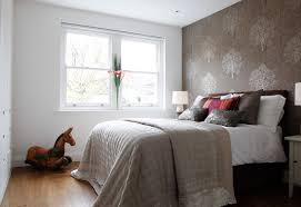 Bedroom Decorating Ideas Feature Wall Bedroom Artistic Ideas In Parquet Flooring Bedroom Decoration