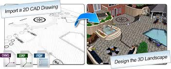 Home Designer Pro Import Dwg New Landscape Design Software Realtime Landscaping Architect
