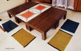 Low Dining Room Table by Low Seating Dining Table