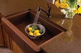 cuivre cuisine 12 idées pour intégrer un évier en cuivre dans une cuisine moderne