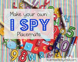 i spy mats i can teach my child
