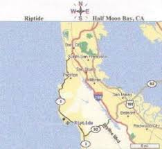 california map half moon bay sea charters in half moon bay ca riptide charters