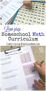 easy to use homeschool math curriculum a review