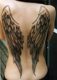 tattoo angel wings on neck wing tattoo 33 trendy ideas hum ideas