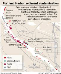 Portland Airport Terminal Map by Portland Harbor Contamination Poses Risk To Humans Environment