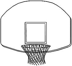 Coloring Download Basketball Hoop Coloring Page Basketball Hoop