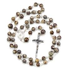 mens rosary jasper men s rosary rosaries and chaplets by sue