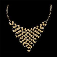 bib necklace metal images 14k gold fashion bib necklace jpg