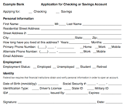 checking savings and credit card applications esl voices