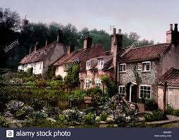 lowestoft old cottage houses england stock photo royalty free