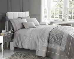 Diy King Duvet Cover Stunning Design Emse In A Modern Silver Colour Quilt Cover U0026 2