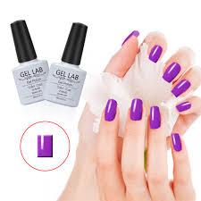 gel lab 10ml purple series soak off gel polish nail vanish nail
