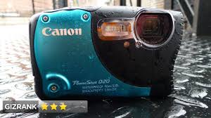 Rugged Point And Shoot Cameras Canon Powershot D20 Review Tough Camera Weak Performance
