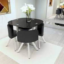 Glass Dining Room Table And Chairs Glass Table And Chair Sets Ebay