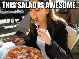 Salad Meme - this salad is awesome memes and comics