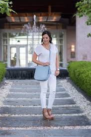 all white casual all white with serenity blue
