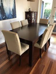 Room And Board Dining Table Solid Pine Dining Table And Chairs Picclick Uk Solid Wood Dining