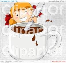 royalty free rf clipart illustration of a cute little