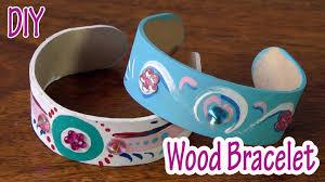 bracelet craft diy images Diy crafts wood bracelet ana diy crafts jpg