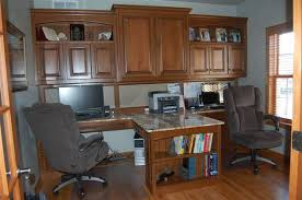 Office Desk With Cabinets Custom Home Office Desk Furniture With Regard To Prepare 3