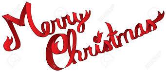 merry christmas ribbon merry christmas ribbon sign vector illustration royalty free