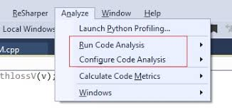 static code analyser visual studio computing u0026 technology