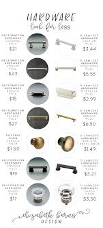 what color cabinet hardware hardware to go with brass hinges other affordable options