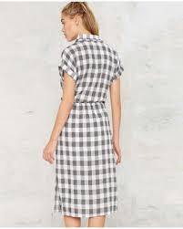 Black And White Plaid Shirt Womens Black And White Plaid Shirt Dress For Women Long Shirts Fork