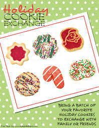 christmas party invitations free templates cookie exchange invitations bake sale flyers u2013 free flyer designs