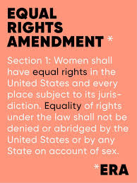 the key to getting gender equality in the constitution may be