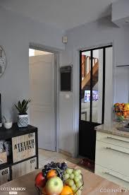 separation cuisine style atelier remplacer une porte par une verrière d intérieur relooker mon