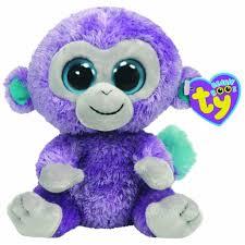 ty beanie boo u0027s blueberry monkey cardingtons gift shop toy