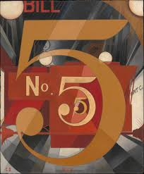charles demuth i saw the figure 5 in gold the met