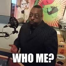 Who Me Meme - stern show on twitter we call this the who meme beetlepimp
