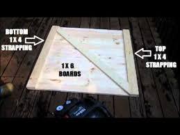 Interior Crawl Space Door How To Build A Crawl Space Door Youtube
