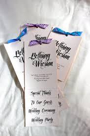 cheap wedding programs printed diy flip book wedding programs personalized pdf ready