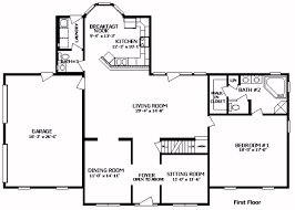simple colonial house plans colonial floor plans simple 14 center colonial floor plans