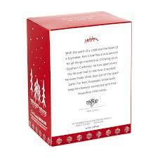 amazon com hallmark keepsake 2017 santa certified toy bear and