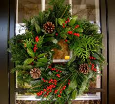 Christmas Garden Decorations Ideas by Great Outdoor Christmas Wreaths Design Decorating Ideas