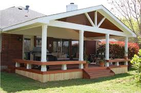 glamorous enclosed patio ideas and wood decks with planters also