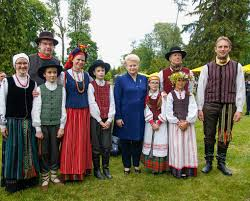 midsummer festival celebrates common traditions president of the